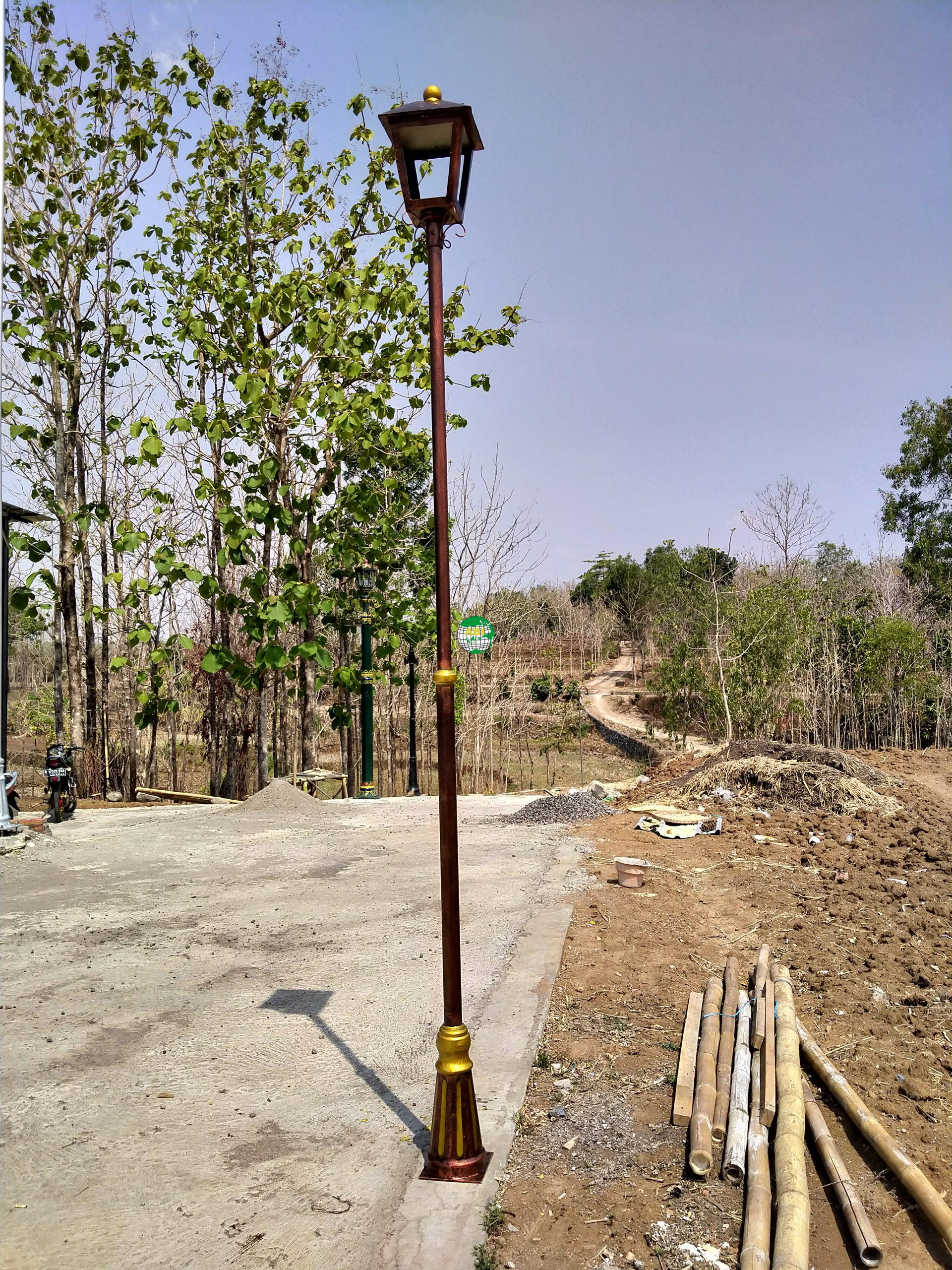Tiang Lampu Minimalis Taman Lampu Taman Potret Tangerang Murah