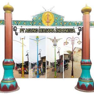 Tiang Lampu Jalan Kota Cirebon
