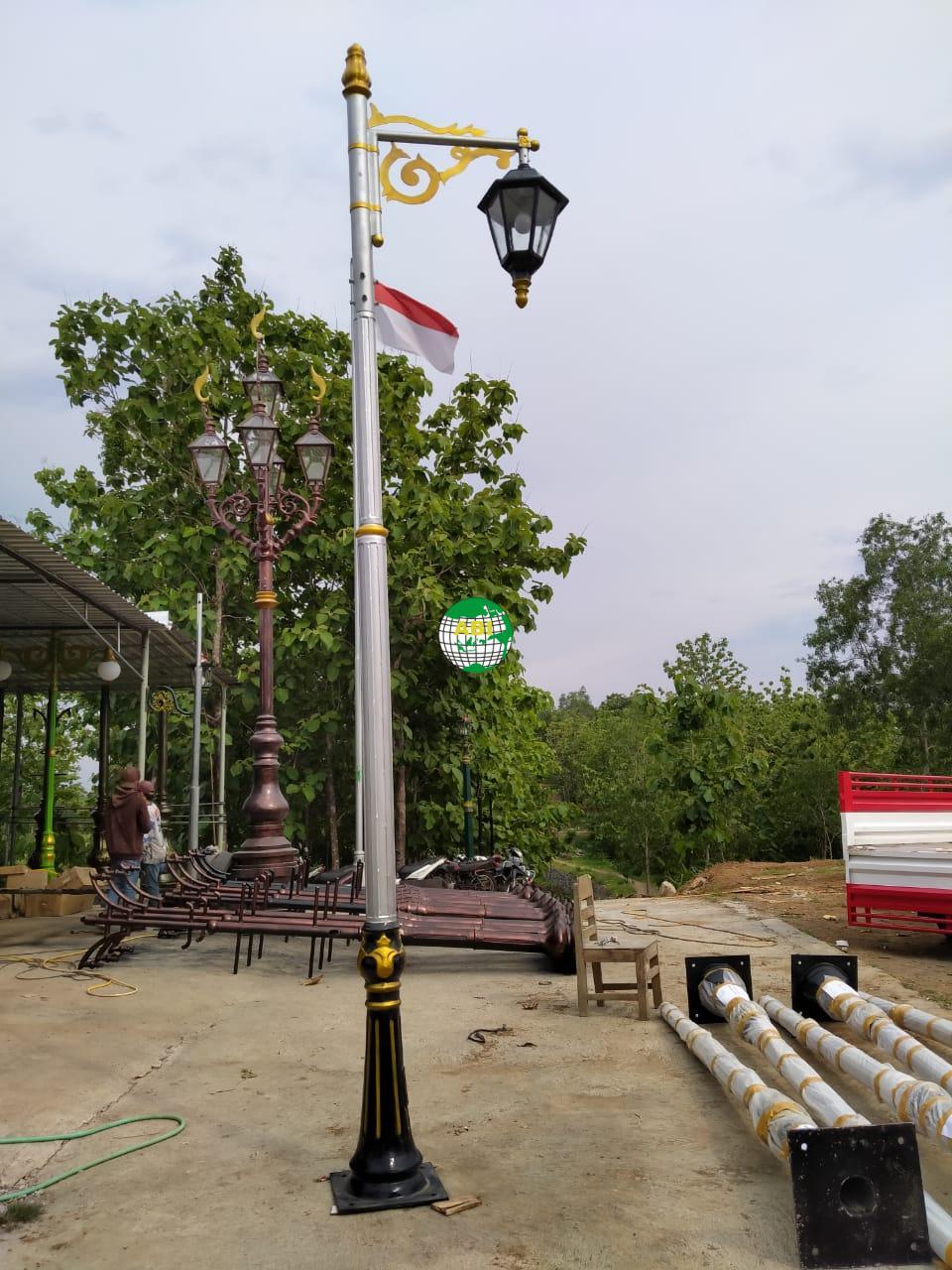 Tiang Lampu Taman Dekorasi Tiang Lampu Taman Dekorasi Murah 2021