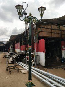 Tiang Lampu Jalan Jogja Tiang Lampu Taman Yogyakarta Jual Murah