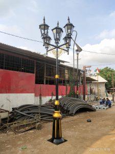 Jual Tiang Lampu Jalan Kota