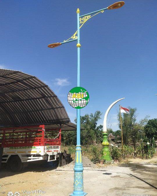 Harga Tiang Lampu Jalan 7 Meter