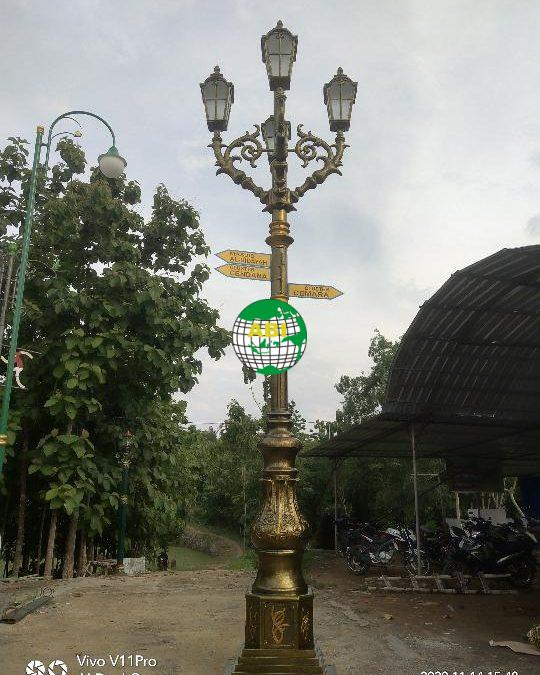 Harga Tiang Lampu Jalan 5 Meter