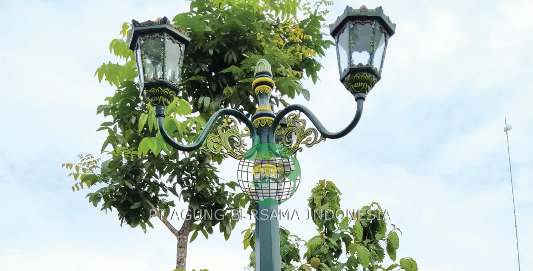 Harga Tiang Lampu Jalan Dekorasi