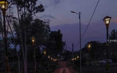 Memilih Lampu Taman Dengan Sesuai