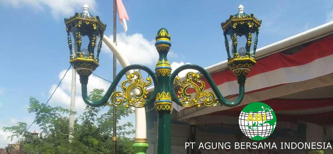 Lampu Hias Sebagai Dekorasi Taman