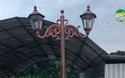 Harga Tiang Lampu PJU Dekorasi