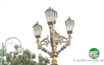 Tiang Lampu Unik untuk kebutuhan Pribadi