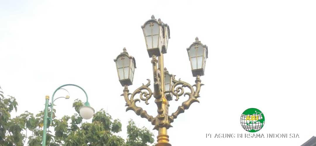 Cara Berbisnis Tiang Lampu Jalan
